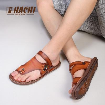 哈驰男凉鞋夏季沙滩鞋新款两用拖鞋经典休闲男鞋子防滑韩版凉拖鞋MG373251