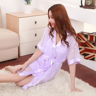 依佳茵 2017春夏季新款女装睡衣蕾丝性感吊带睡裙两件套套装6131