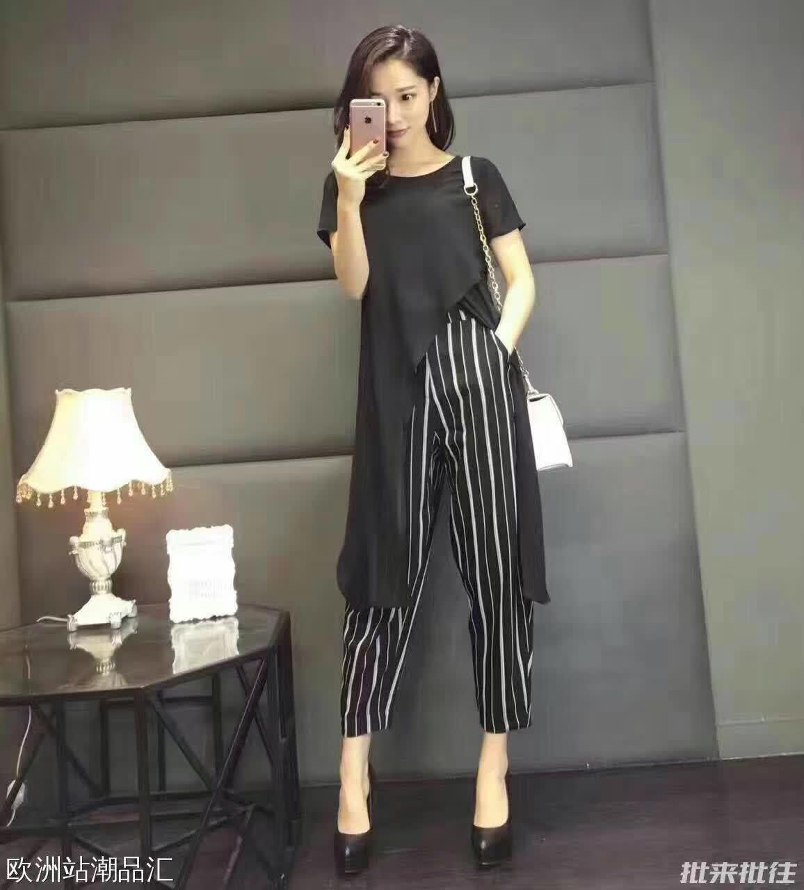 琴之云裳 2017年夏季时尚休闲套装