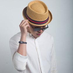 Livingston利文思顿 度假帽子 男英伦沙滩爵士帽 LF8013