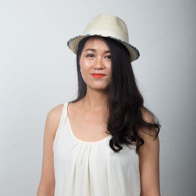 Livingston利文思顿 度假帽子 女士沙滩帽,遮阳帽 LF8017