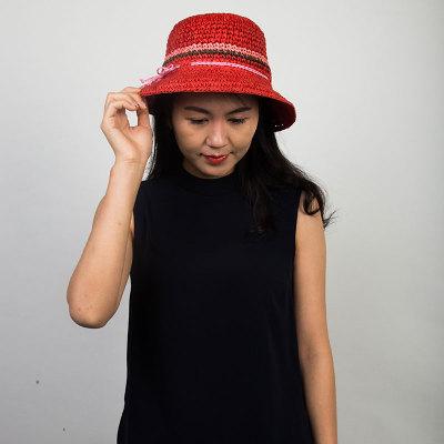 Livingston利文思顿 度假帽子 女士沙滩帽,遮阳帽 LF8018