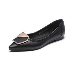荷月诗heryusol 牛皮漆面单鞋 AXL17110-01