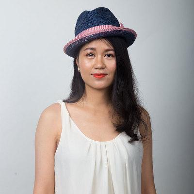 Livingston利文思顿 度假帽子 女士沙滩帽,遮阳帽 LF8021