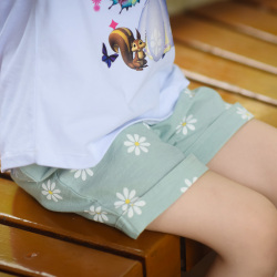小孩说 小菊花短裤 BK6-804