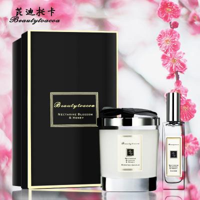 Beauty toacoa芘迪托卡 杏桃花与蜂蜜香水+蜡烛