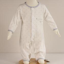 8306纯棉长袖两用档哈衣