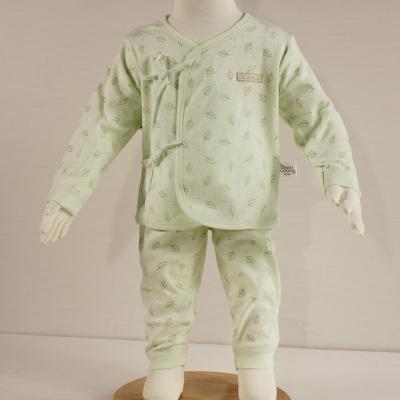 淇可长袖上衣长裤可爱娃娃装偏襟内衣套装612401