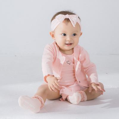 卓依佳 粉色套装 童装粉色童装新款上新时尚可爱童装 QZ1710