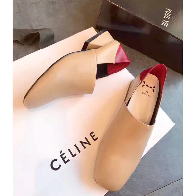 两穿拼色单鞋 2017-H30