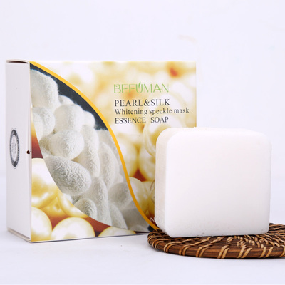 碧芙曼珍珠蚕丝面膜皂