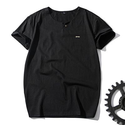 杜狄嘉 男士短袖T恤 夏季体恤 男装2017新款修身衣服男生潮牌上衣7761