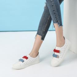 拓涵 新款韩版镂空休闲舒适小白鞋 TH57A002
