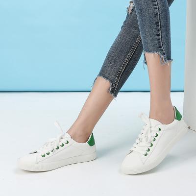 拓涵 新款韩版学院风休闲板鞋小白鞋 TH57A003