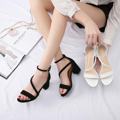 丽姿 韩版女凉鞋