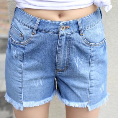 韩版修身牛仔短裤 YJL02