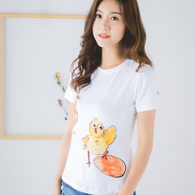 卓依佳2017年夏季韩国出壳鸡亲子套装  QZ1702