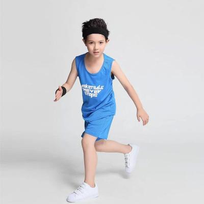 闪鹰 2017童装模特展示大量现货篮球服147#