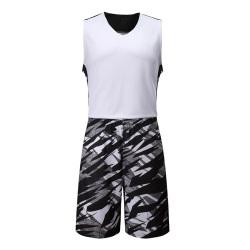 闪鹰 运动背心迷彩颜色训练比赛篮球服LQ167#