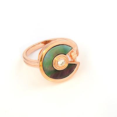 奇盛原创设计银饰品戒指吊坠简约大气光面情侣戒指闺蜜手工对戒耳环项链套装 QR5549