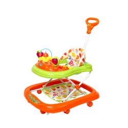 婴儿童宝宝助步学步车6-12个月防侧翻多功能滑行车带音乐玩具车