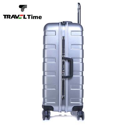 万向轮拉杆箱女20寸24寸PC箱铝框万向轮海关锁男磨砂行李箱