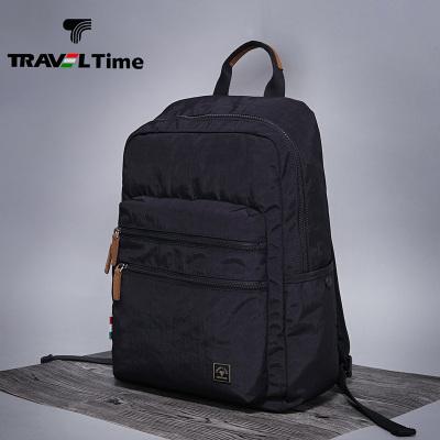 TRAVEL TIME男士双肩包商务休闲防水旅行旅游背包