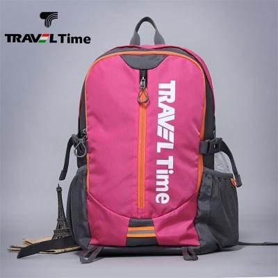 TRAVEL TIME背包运动休闲户外轻便大容量旅行男女尼龙防水双肩包