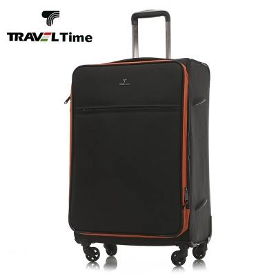 TRAVEL TIME行李箱万向轮旅行箱20寸拉杆箱24寸密码箱登机箱男女