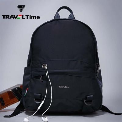 TRAVEL TIME男士双肩包防水牛津纺休闲商务旅行旅游背包
