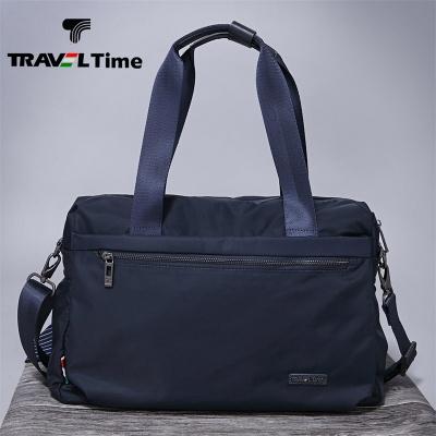 TRAVEL TIME斜挎包男运动休闲牛津布斜挎单肩旅行韩版时尚手提包