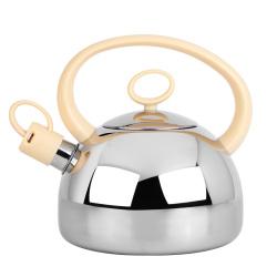 欧式鸣笛烧水壶 430不锈钢聚能导热壶底
