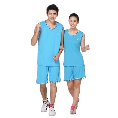 XD 2017新款篮球服套装男女情侣球衣训练比赛背心透气运动夏季篮球服6805