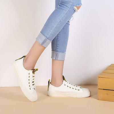 拓涵 时尚织带小白鞋 TH57B001