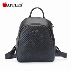 APPLES/苹果 女包休闲百搭绣线旅行背包潮 AA133025-1A