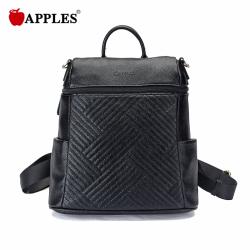APPLES/苹果 女包休闲百搭绣线旅行背包潮 AA133025-2A