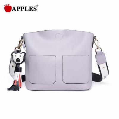 APPLES苹果 女包休闲百搭韩版小挂件斜挎女包 AA133050-2P