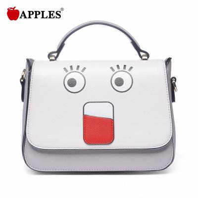 APPLES苹果 女包潮百搭卡通小包日韩手提斜挎包AA133051-2P