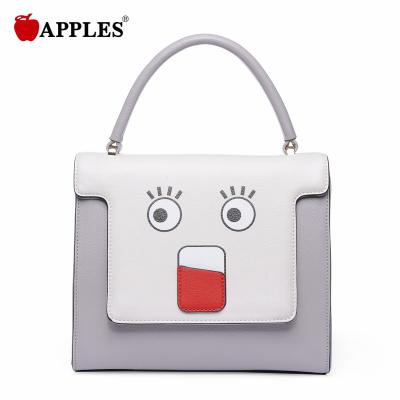 APPLES苹果 女包潮百搭卡通女包日韩手提斜挎包 AA133051-3P