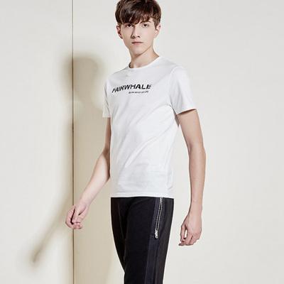 萨曼世家 2017男士短袖T恤圆领棉修身夏季男青年韩版半袖打底上衣服夏装新款 7009