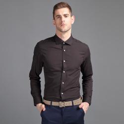 EPTOM 2017年新款上线商务时尚修身长袖男装T恤纯色百搭00130339