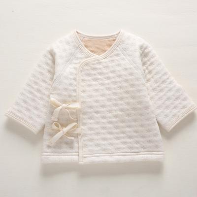 currentbaby 婴儿提花夹棉系带 和尚服 201627