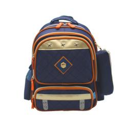 华盛星新款带反光条小学生书包男女双肩背包防水耐磨儿童书包反光8301