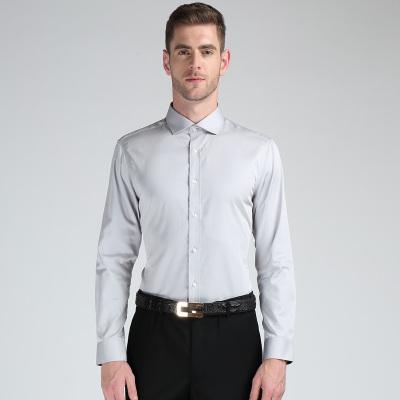EPTOM 2017年新款上线商务时尚修身长袖男装T恤纯色百搭 16068009