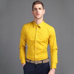 EPTOM 2017年新款上线商务时尚修身长袖男装T恤纯色百搭34567516