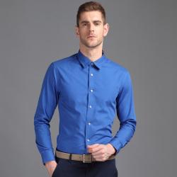 EPTOM 2017年新款上线商务时尚修身长袖男装T恤纯色百搭 34567532