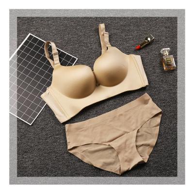 爆款文胸内衣 性感妩媚无痕幸福狐狸同款 美人条无痕套装文胸套装