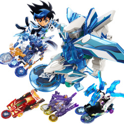 爆裂飞车2变形玩具套装爆烈三晶片3代正版男孩暴力暴烈苍穹爆王