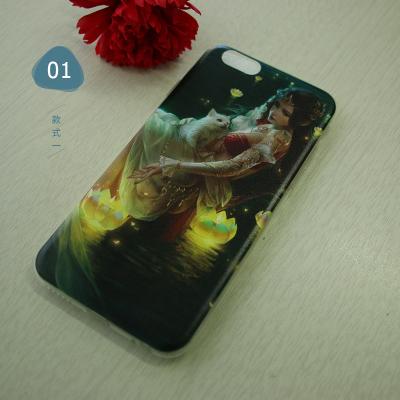 iPhone6手机壳苹果6Plus套全包边6s防摔硅胶i6p新款男女款红7