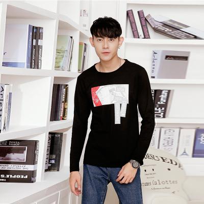 达昇 2017新款时尚潮流长袖型男T恤 C114